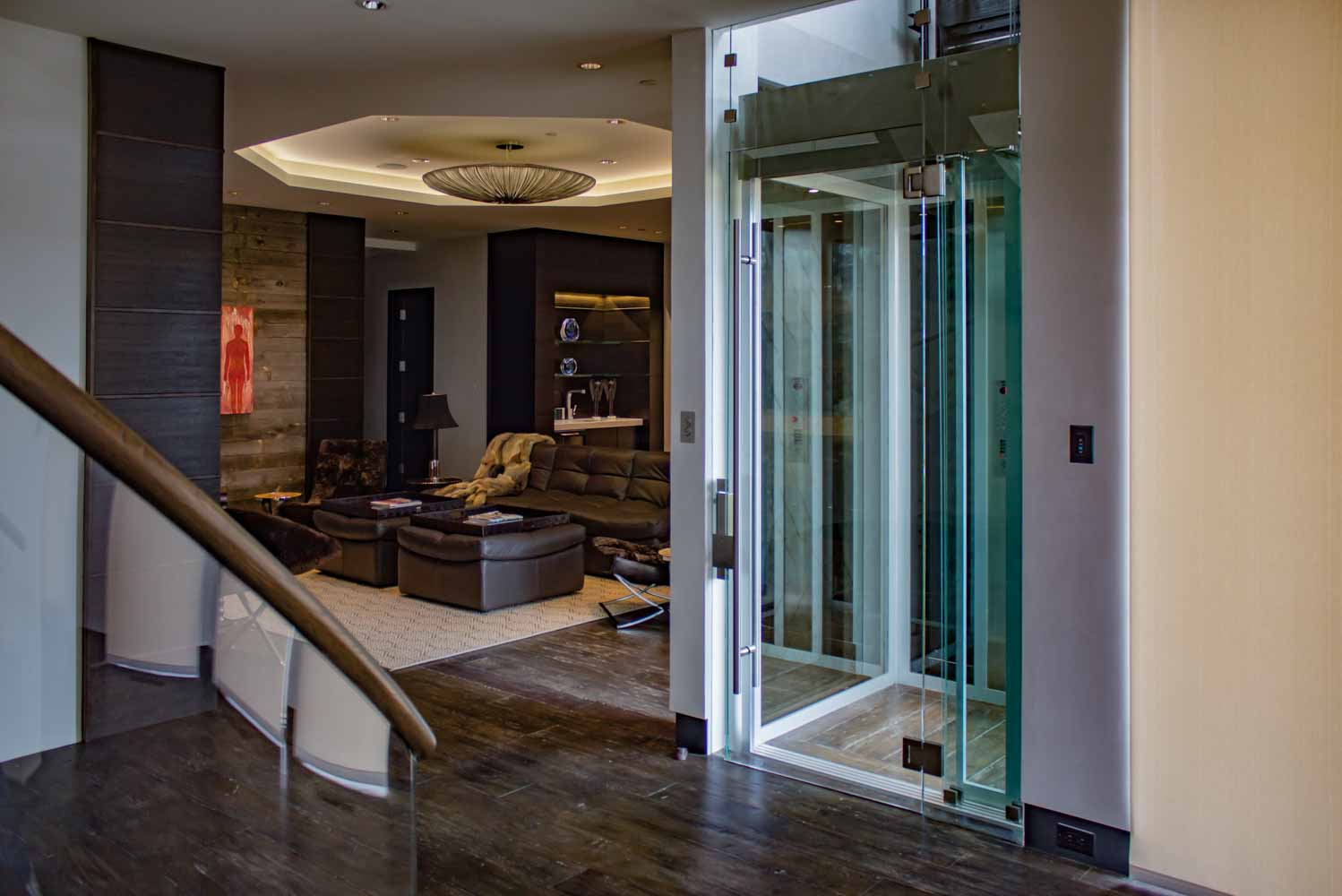 Custom Glass Elevator