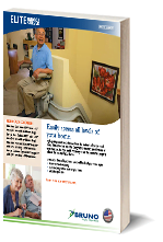 Bruno Elite Curved Stairlift Brochure
