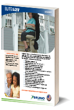 Bruno Elite Outdoor Stairlift Brochure