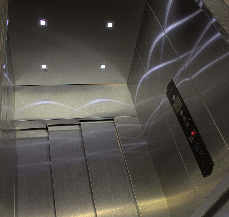 Stainless Steel Elevator Cab